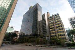 现代大厦在圣保罗市 免版税图库摄影