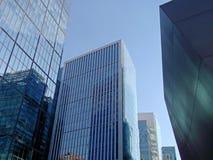 现代大厦在圣地亚哥,智利 免版税库存照片