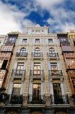 现代派大厦在奥维耶多,阿斯图里亚斯 免版税图库摄影