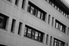 现代大厦在小室Haag 库存照片