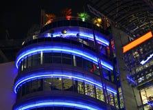 现代大厦在法兰克福 德国 免版税图库摄影