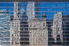 现代大厦在芝加哥 免版税图库摄影