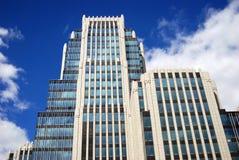 现代大厦在莫斯科市 库存图片