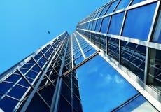 现代大厦在萨格勒布,克罗地亚 免版税库存照片