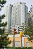 现代大厦在阿卡迪亚 免版税库存图片