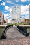 现代大厦在鹿特丹,荷兰 库存图片