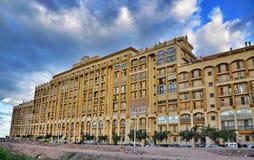 现代大厦在巴伦西亚,西班牙 免版税库存图片