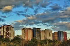 现代大厦在巴伦西亚,西班牙 库存图片