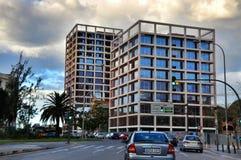 现代大厦在巴伦西亚,西班牙 库存照片