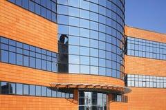 现代大厦在Shchyolkovo 俄国 免版税库存照片