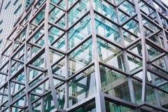 现代大厦特写镜头 库存图片