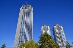 现代大厦的商业 免版税库存照片