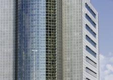 现代大厦的片段 现代结构的设计 库存照片