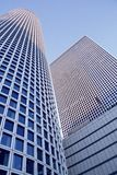 现代大厦的片段 免版税库存照片