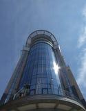 现代大厦的玻璃 免版税库存照片