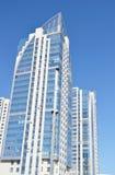 现代大厦视图 免版税库存图片