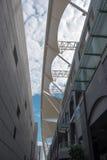 现代大厦风景在厦门市 库存图片