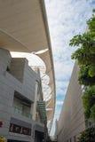 现代大厦风景在厦门市 免版税库存照片