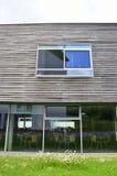 现代大厦,一部分的学校复合体 免版税库存照片