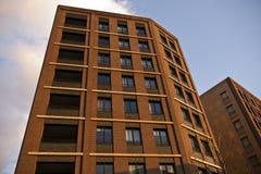 现代大厦,伦敦,英国 库存图片
