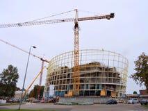 现代大厦,拉脱维亚 免版税图库摄影