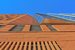 现代大厦-尼罗房子,布拉格细节 图库摄影