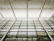 现代天花板 免版税库存照片