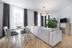 现代室内设计客厅 库存照片