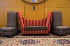 现代家具沙发椅子 库存图片