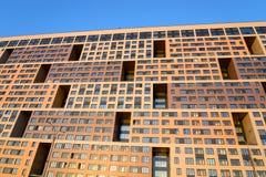 现代居民住房 免版税库存图片