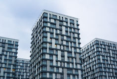 现代居民住房 免版税库存照片