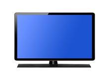 现代屏幕电视 免版税图库摄影