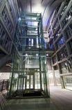 现代工业金属定向塔结构 库存图片