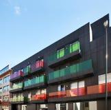 现代布鲁塞尔的大厦 比利时 图库摄影