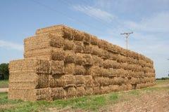 现代干草堆2 库存图片