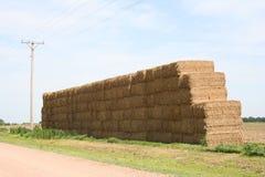 现代干草堆3 免版税库存照片