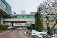 现代德国城市 免版税图库摄影