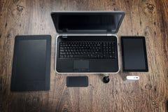 现代技术设备 免版税库存图片