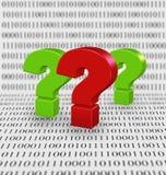 现代技术谜语  免版税库存照片
