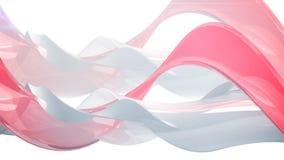 现代抽象波浪背景 免版税库存照片