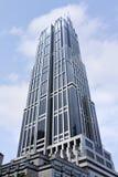 现代摩天大楼在上海中心商务区,中国 库存照片