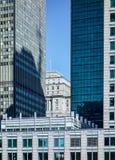 摩天大楼关闭  免版税库存图片