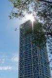 现代摩天大楼在巴塞罗那 西班牙 库存图片