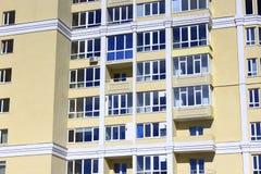 现代摩天大楼的片段 库存照片