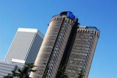 现代摩天大楼,马德里,西班牙 库存照片