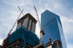 现代摩天大楼建筑 免版税图库摄影