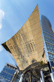 现代财政办公楼 免版税库存照片