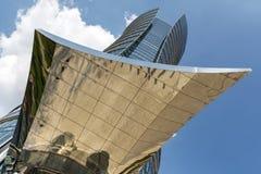 现代财政办公楼 免版税库存图片