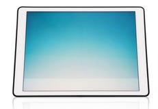 现代数字式片剂,隔绝在白色背景 免版税库存照片