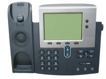 现代数字式IP电话 图库摄影